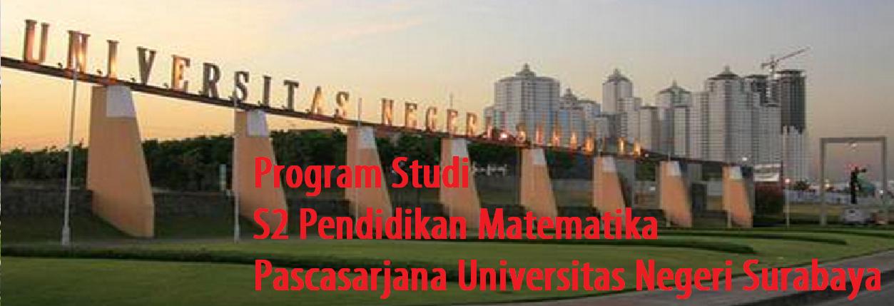 Program Studi S2 Pendidikan Matematika